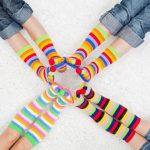 Chaussettes colorées : les plus belles chaussettes colorées